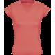 Moteriški marškinėliai V apykakle