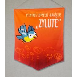 "Lopšelio - darželio ""Zylutė"" vėliava"
