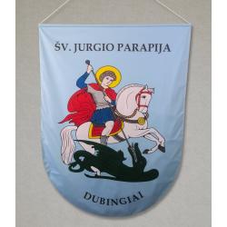 Šv. Jurgio parapijos vėliava
