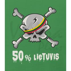Kaukolė 50 % lietuvis